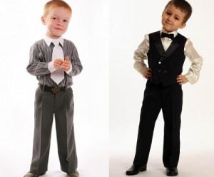 как одеть мальчика на выпускной в саду