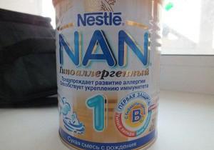 смесь нан 1 отзывы