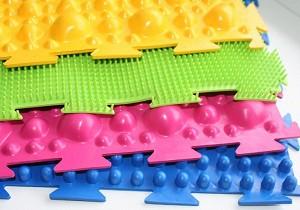ортопедический коврик для детей пазл от плоскостопия