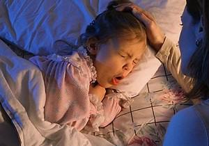 лающий кашель у ребенка с температурой