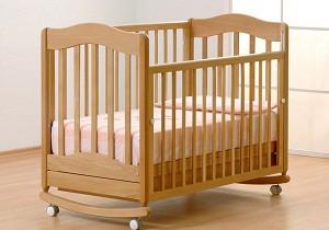 недорогие детские кроватки для новорожденных