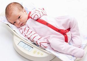 прибавка веса у новорожденных по месяцам таблица
