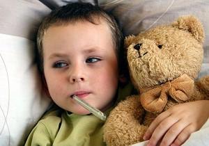как сбить температуру у ребенка комаровский