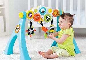 развитие ребенка в 7 месяцев девочка