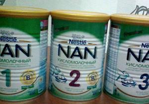 смесь нан кисломолочный отзывы