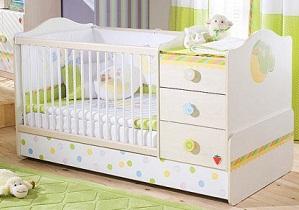 купить недорогую кроватку новорожденного недорого