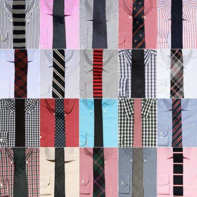 Подбор рубашки к галстуку