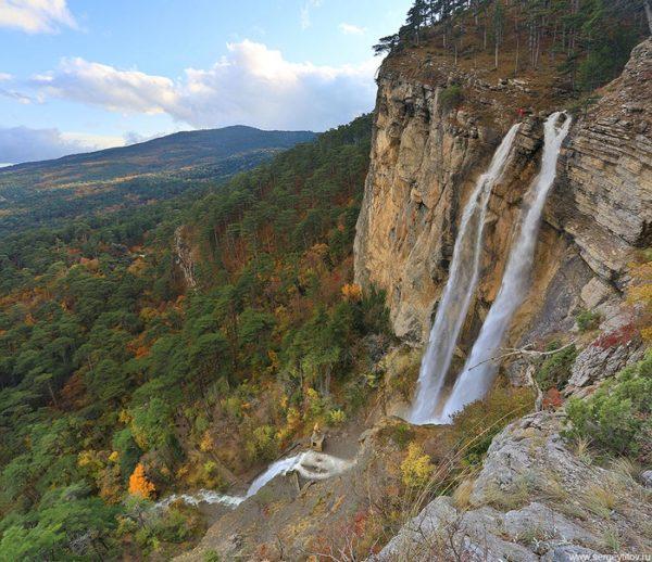 Ялтинский горно-лесной заповедник и водопад Учан-Су