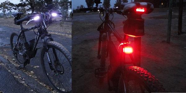 Обязательное использование световых приборов и светоотражающих элементов