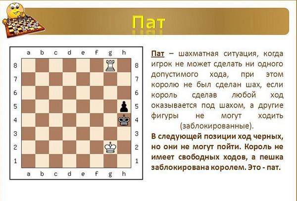 Что такое шах, мат и пат-02