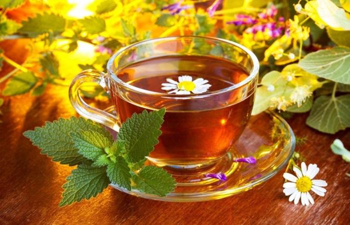 травяной чай для кормящей мамы