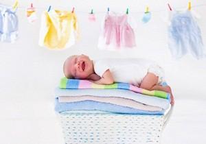 как стирать вещи для новорожденных,