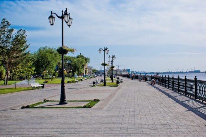 Астраханская набережная