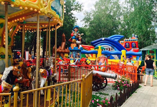 Детский парк развлечений «МультиЛэнд»