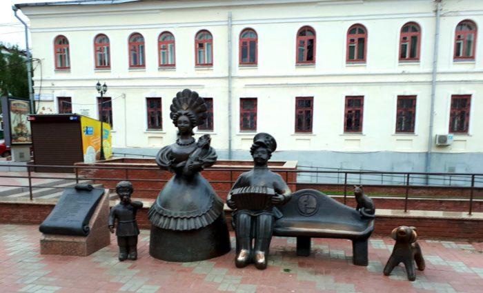 Скульптура «Семья»