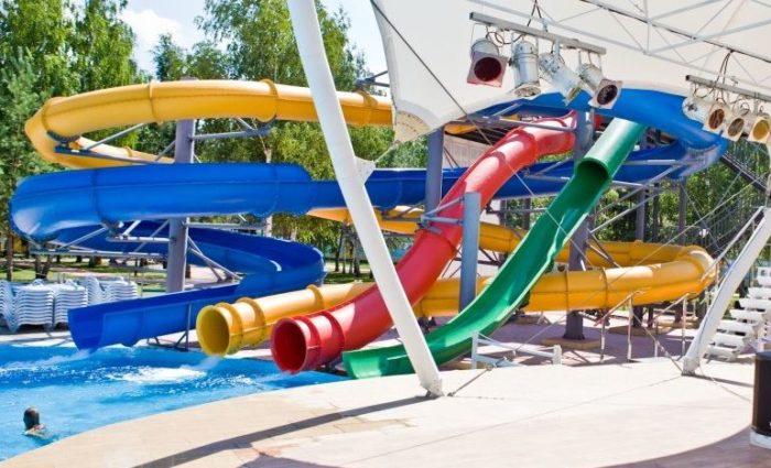 Аквапарк Аквалэнд (открытый, летний, с 1 июня по 1 сентября)
