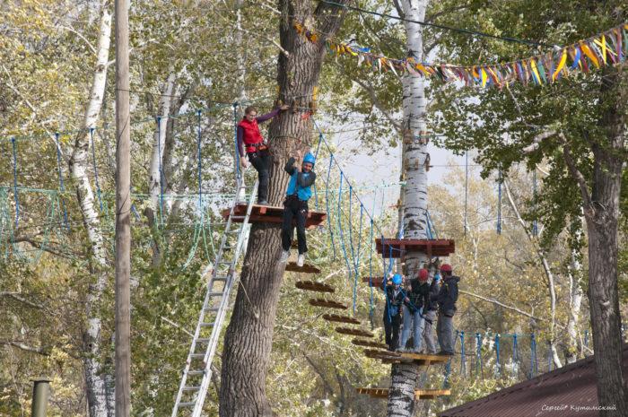 Верёвочный парк «На высоте»