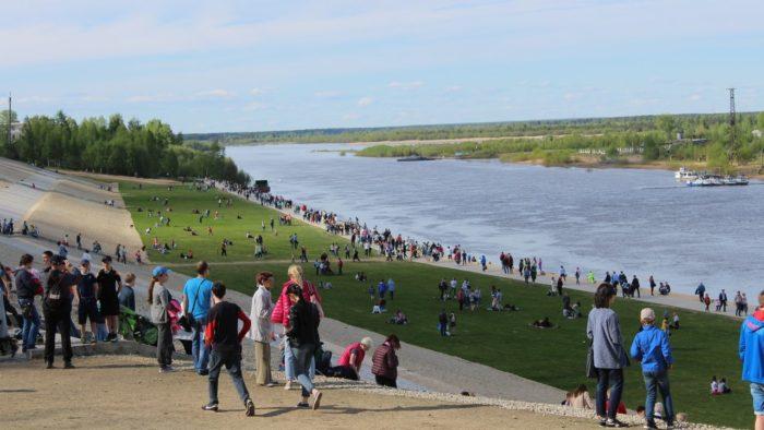 Набережная реки Сысола